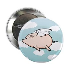 "When Pigs Fly Vector 2.25"" Button"
