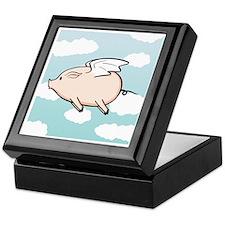 When Pigs Fly Vector Keepsake Box