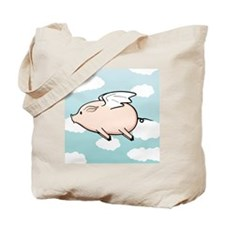 When Pigs Fly Vector Tote Bag