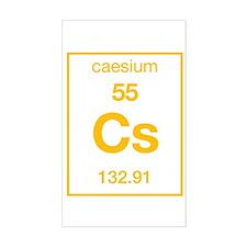 Caesium Rectangle Decal