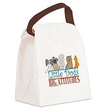bigattitudes.png Canvas Lunch Bag