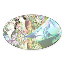 Wings of Angels Amethyst Crystals Decal