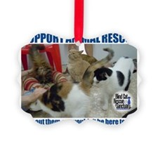 Support Animal Rescue Ornament