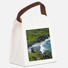 BLKSdsTile Canvas Lunch Bag