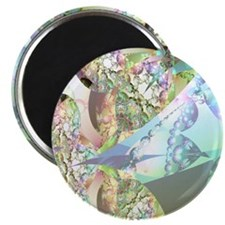 Wings of Angels Amethyst Crystals Magnet