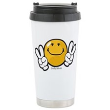ambition smiley Travel Mug