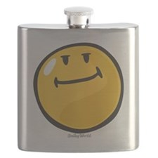 pride smiley Flask