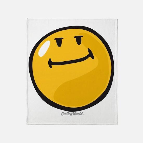 pride smiley Throw Blanket
