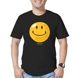 Happy Fitted T-shirts (Dark)