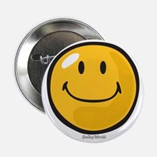 "smug smiley 2.25"" Button"