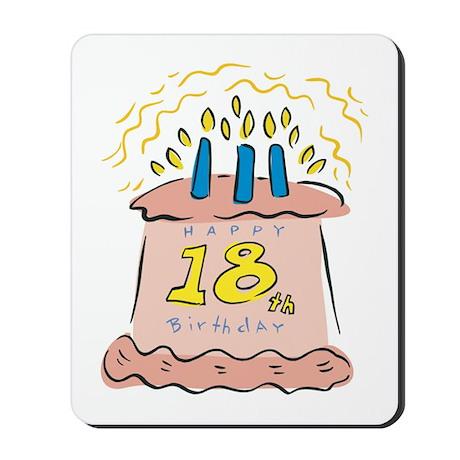 Happy 18th Birthday Mousepad
