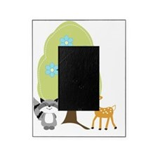Woodland Raccoon and Deer Picture Frame