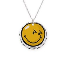 sneakiness smiley Necklace