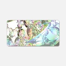 Wings of Angels Amethyst Cr Aluminum License Plate