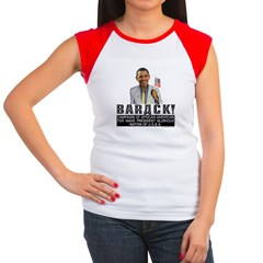 Barack for Make President Women's Cap Sleeve T-Shi