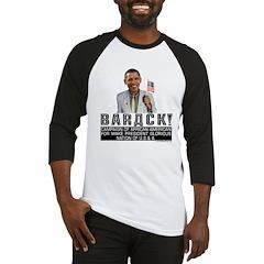 Barack for Make President Baseball Jersey