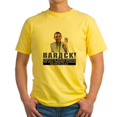 Barack for Make President Yellow T-Shirt
