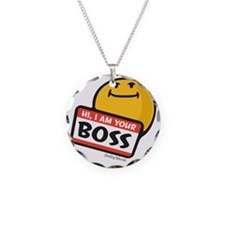 superiority smiley Necklace