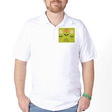 vector flower card T-Shirt