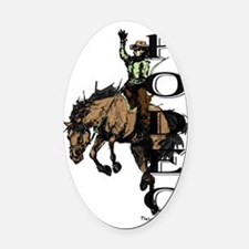 Rodeo Oval Car Magnet