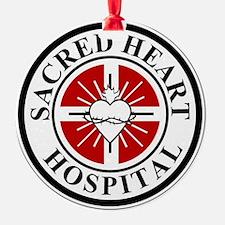sacred heart logo Ornament