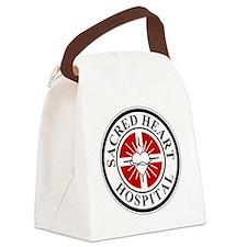 sacred heart logo Canvas Lunch Bag