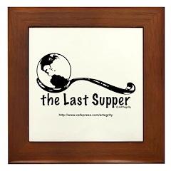 Last Supper Spoon Framed Tile