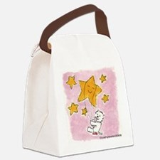 WestieStar.png Canvas Lunch Bag