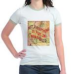 Flat New Mexico Jr. Ringer T-Shirt