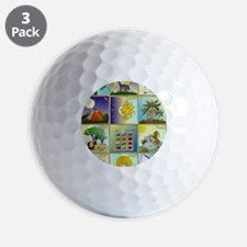 12 Tribes of Israel Golf Ball
