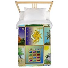12 Tribes of Israel Twin Duvet