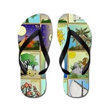 12 Tribes of Israel Flip Flops