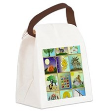 12 Tribes of Israel Canvas Lunch Bag