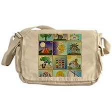 12 Tribes of Israel Messenger Bag