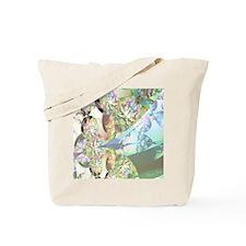 Wings of Angels Amethyst Crystals Tote Bag