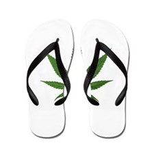 Eco Friendly Lets Go Greed Flip Flops