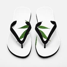 Eco Friendly Lets Go Greed Flip Flops