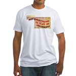 Flat Oklahoma Fitted T-Shirt
