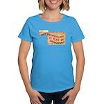 Flat Oklahoma Women's Dark T-Shirt