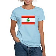 Lebanon Flag T Shirts T-Shirt