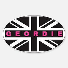 Geordie flag (Pink) Decal