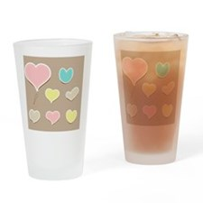 Vector set of vintage cute frames i Drinking Glass