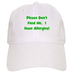 Please Don't Feed Me - Allerg Baseball Cap