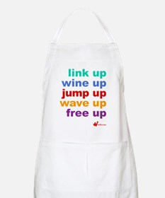 link UP wine UP jump UP wave UP free UP Apron