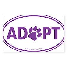 Adopt Purple Decal