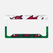Wales Flag License Plate Holder