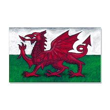 Wales Flag Car Magnet 20 x 12