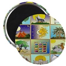 12 Tribes Of Israel Magnet
