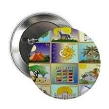 "12 Tribes Of Israel 2.25"" Button"