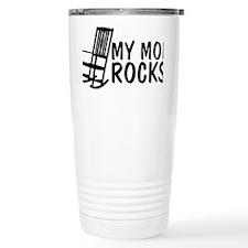 My Mom Rocks Travel Mug